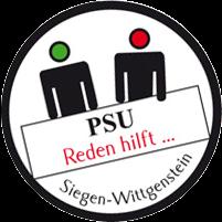 Logo PSU Reden hilft ...
